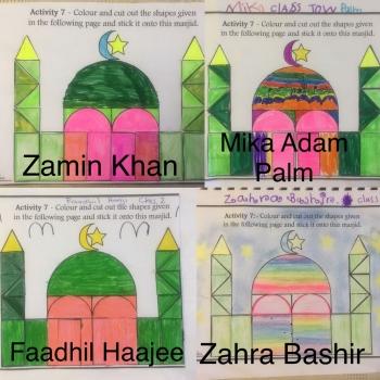 Zamin, Mika, Faadhil and Zahra - Class 2