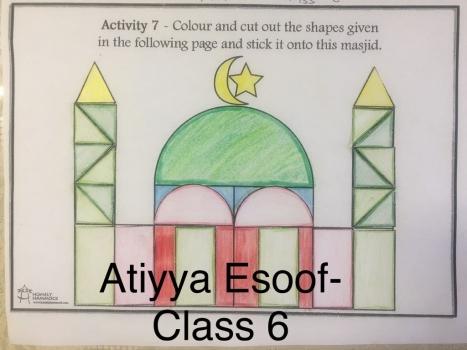 Atiyya Esoof - Class 6